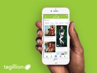 Homepage - Tagillion iOS App
