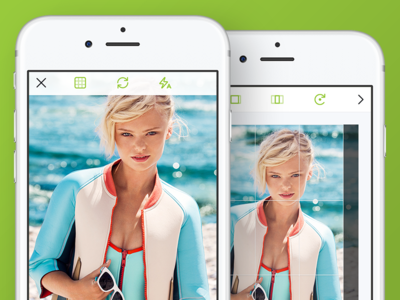Create Media - Tagillion iOS App gallery filters edit camera retina iphone process tagillion ios create capture