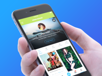 Profile - Tagillion iOS App thumbnail posts followers following profile tagillion appdesign ios