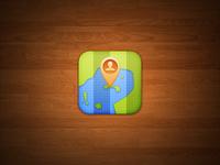 Maps iOS Icon