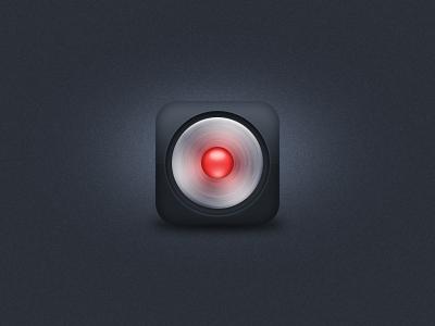 Record iOS Icon ios iphone ipad icon 114px record