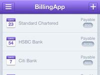 Billing iOS App