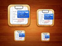 Bill Organizer iOS Icon (Final)