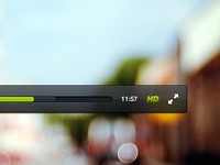 Freebie: Video Player PSD