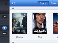 Browse Shows - iOS App