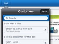 Sales Presentation iOS App