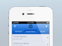 W - iOS App (Blue)