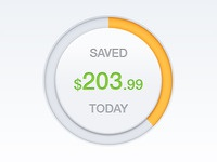 Savings Chart iOS