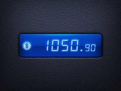 Money Counter ios app game iphone money counter led leather retina