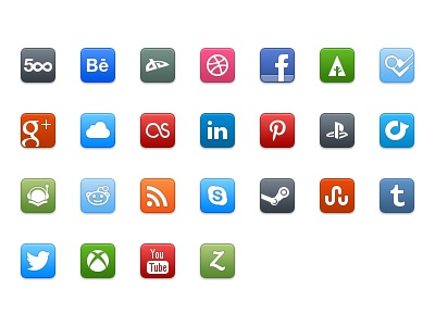 Social Iconset 32px 48px iconset icons icon social