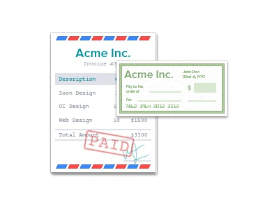 Invoice Cheque Icon Wave Apps By Umar Irshad Dribbble - Invoice wave