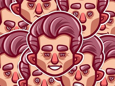 Expressions vector digital painting vector artist digital art illustrator character illustration expressions emotions face expression vector illustrator vector art character design vector illustration illustration character