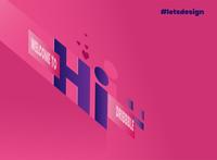 Hi, Lets design !