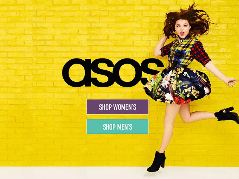 Daily UI 003 - Landing Page e-commerce fashion asos 003 daily ui landing page