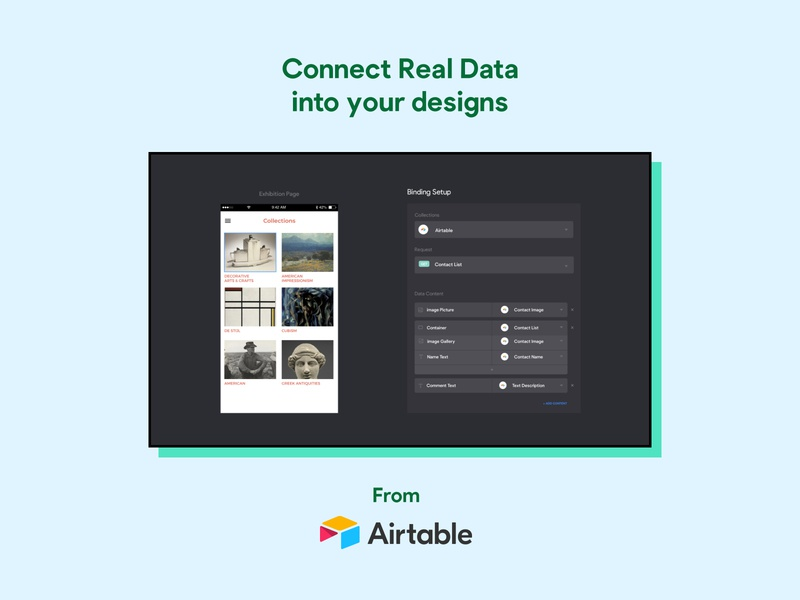 Connect to REAL Data 🤯 madewithbravo figma prototype native app ux ui