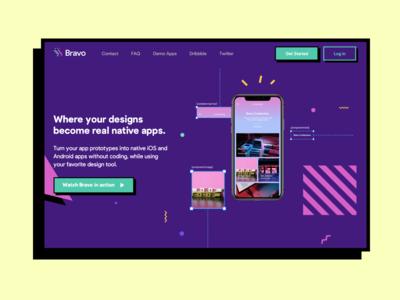 Bravo website