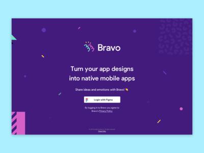 Bravo Studio Login