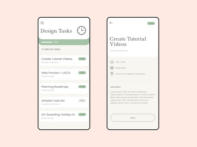 To-do List app Concept