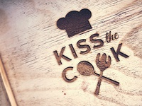 Kiss The Cook - Logo