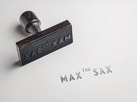 MAX THE SAX Logo Design