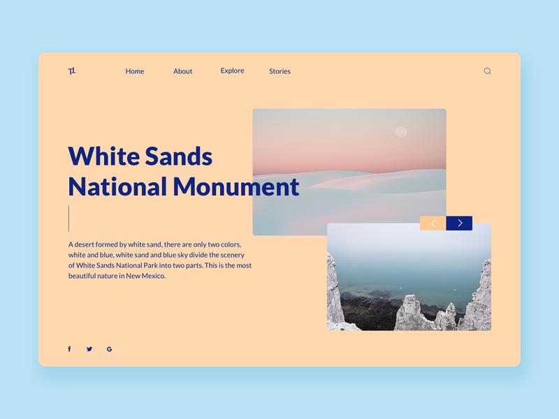 Travel website design website design website travel ui