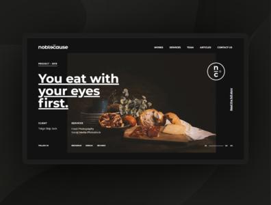 Website Design for Noblecause