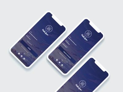 Iphone X App Sign Up Design