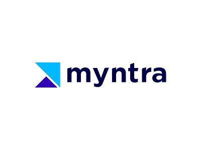 Myntra redesigned vector branding logo