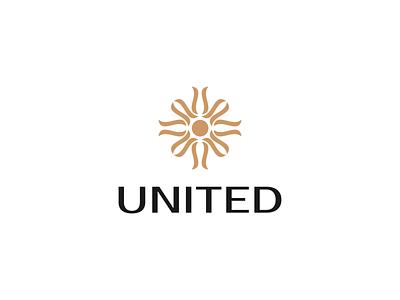 United design branding logo