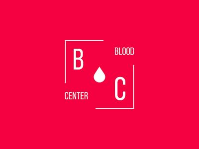 The Blood Center design branding icon logo