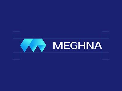 Meghna design branding icon logo