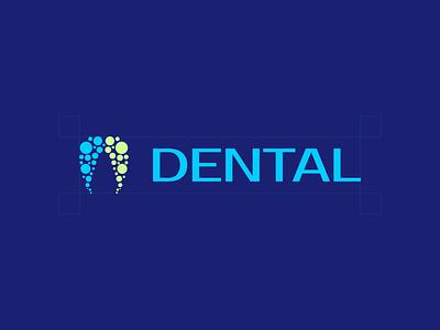 Dental design branding icon logo