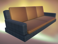 "Sofa for VR game ""Fort Awesome"""