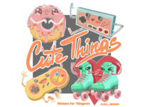 Cute Things Stickers
