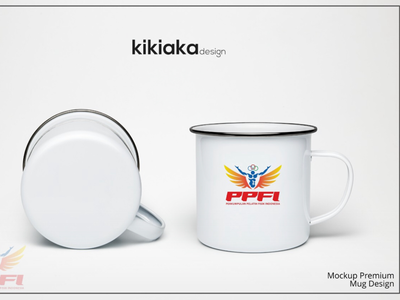 enamel mug design | mockup premium mockup design