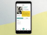 User Profile. Daily UI #006