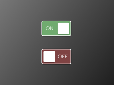 On Off Switch. Daily UI #015