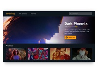 TV App. Daily UI Challenge #025