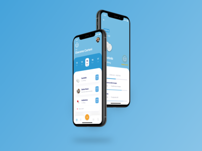 Healthcare App UI Brief