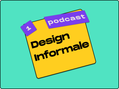 Design Informale Podcast Art podcasts podcast logo podcast art podcasting design informale episode informale layout graphic art podcast product design portfolio dailyui design ui