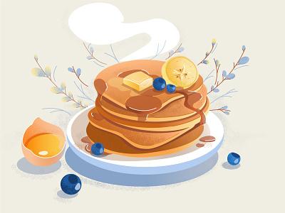 Pancakes pancake week breakfast