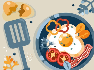 eggs and vegetabls