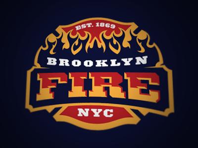 Brooklyn Fire Logo