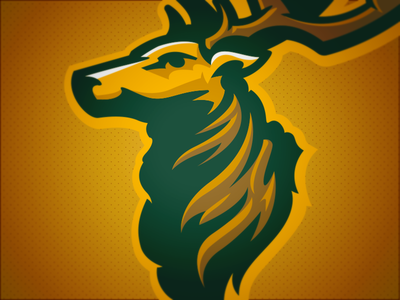 Grove Elks // Mascot