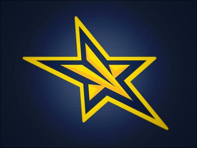 John Jay Stars // Primary Logo