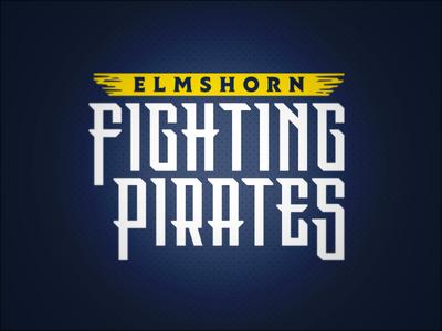 Elmshorn Fighting Pirates // Wordmark