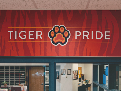 Juliette Low Tigers // Office Graphic