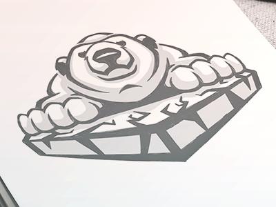 Robert Frost Polar Bears // Unused Sketch 1
