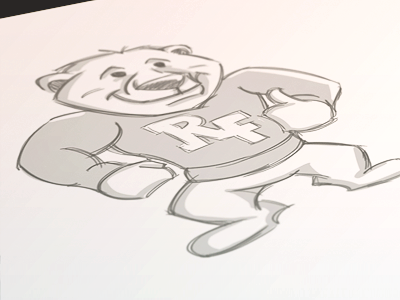Robert Frost Polar Bears // Unused Sketch 2