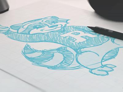Rupley Raccoons // Sketch